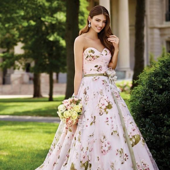 Floral David Tutera Orabelle Wedding Dress Nwt
